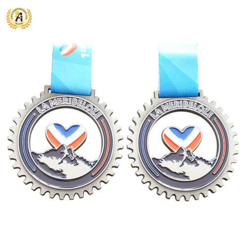 Custom Bike bicycle medals