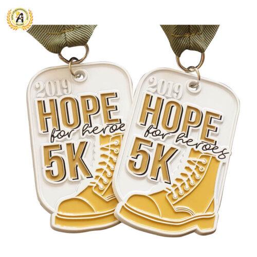 Custom 5k medals