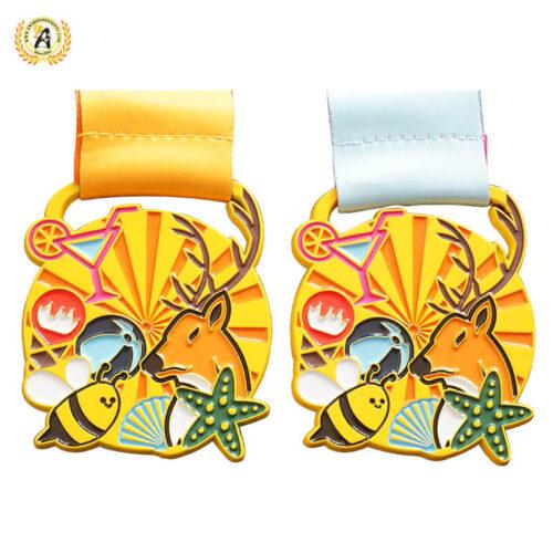 custom race medals