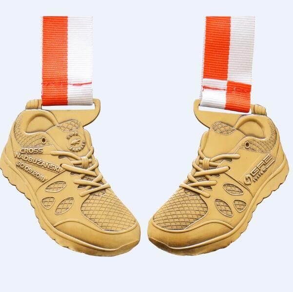 Marathon running 10k medals