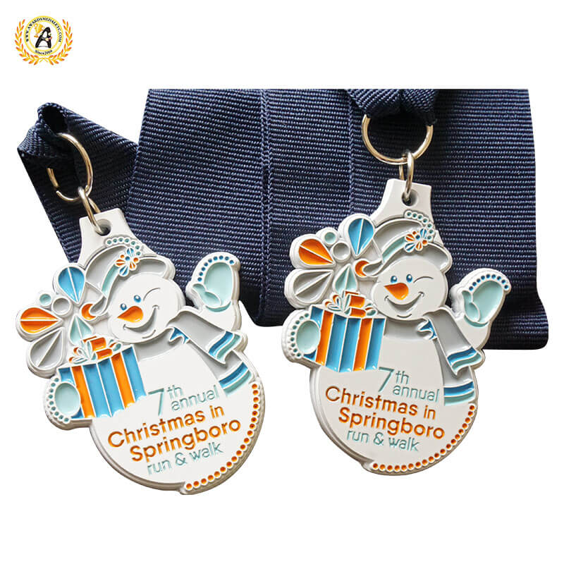 christmas medals